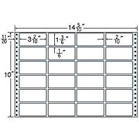 東洋印刷 タックフォームラベル 14 5/10インチ ×10インチ 24面付(1ケース500折) MT14M