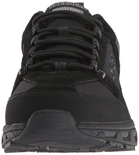 Skechers 51893-bbk_43, Zapatos de Trekking Hombre, Black, EU