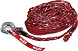 WARN 102558 Spydura Nightline Reflective Synthetic Winch Cable Rope with Swivel Hook End: 3/8' Diameter x 100' Length, 6 Ton (12,000 lb) Capacity