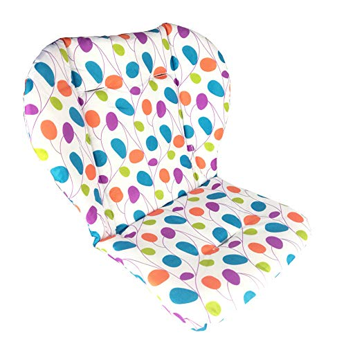 Ancho Highchair/Seat Cushion Protective Film Breathable Waterproof High Chair Pad (Colored Willow)
