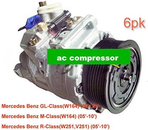 Gowe AC compressore per denso 7SEU17C AC compressore per auto Mercedesbenz W164W251V2512005–201000123083110012308811447150–4000