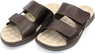 PEGADA Brown Light-weight Design Slipper for Men