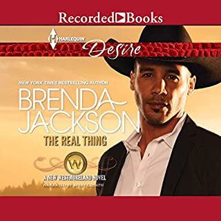 The Real Thing                   By:                                                                                                                                 Brenda Jackson                               Narrated by:                                                                                                                                 Avery Glymph                      Length: 5 hrs and 21 mins     191 ratings     Overall 4.7