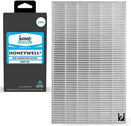 Home Revolution 2 Replacement HEPA Popular product Filters Max 89% OFF Honeywell Fits HRF-R
