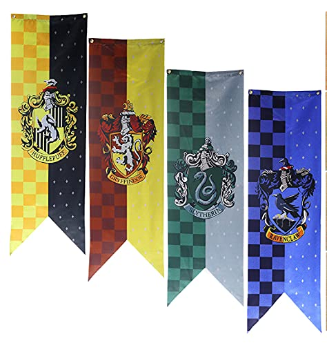 ZZLYY Banner von Harry Potter Hufflepuff Flaggen Banner Poster