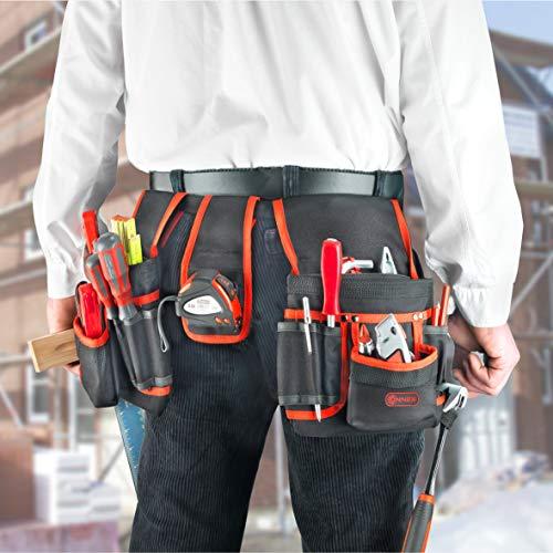 Connex Werkzeuggürtel mit 2 Taschen a 8 Fächer - 2