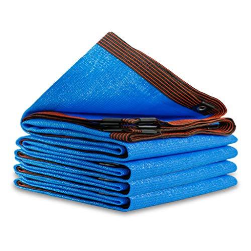 YTQ Paño De Sombra Tasa De Sombreado 80% Pérgola De Invernadero Al Aire Libre Adecuada Reducir Los Rayos UV Azul Bloqueador Solar Malla Transpirable con Ojal De Metal(Size:2m x 8m)