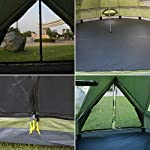 Luxury 4M Bell Tent, Tent Yurt 210D Oxford India Tent, Waterproof Bell Tent, Portable Privacy Tent for Family Camping…