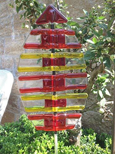Gartendeko Garten Glas Skulptur Design Italien
