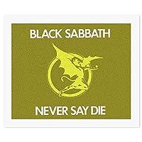 ブラックサバス Black SabbathDIY 数字油絵 キャンバスの油絵 手塗り 57* 47 cm 絵画 大人の子供のためのギフト 数字キットでペイント インテリア アートフレーム ホームデコレーション