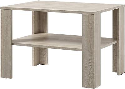 Selsey Table Basse, Chêne Sonoma, 80x55x60 cm