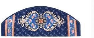 JIAJUAN Stair Carpet Treads Non-Slip Durable Riser Floor Step Rugs Tread Mats, 10mm, 6 Styles, 5 Sizes, Customizable (Col...