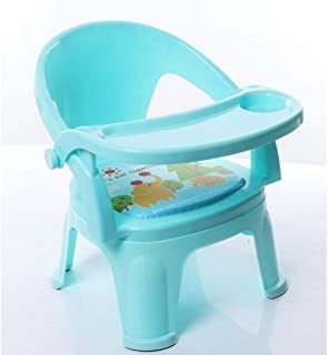 ZOUJUN Children's Dining Chair Called Chair Baby Eating Table Children Chair Back Chair Baby Chair seat Small Stool with R...