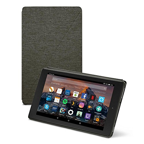 Amazon Fire HD 8-Hülle (8-Zoll-Tablet, 7. Generation - 2017), Schwarz