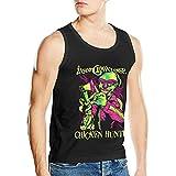 Lsjuee Insane Clown Posse Hombres Algodón Moda Deportes Casual Cuello Redondo Camiseta sin Mangas Chaleco Camiseta sin Mangas
