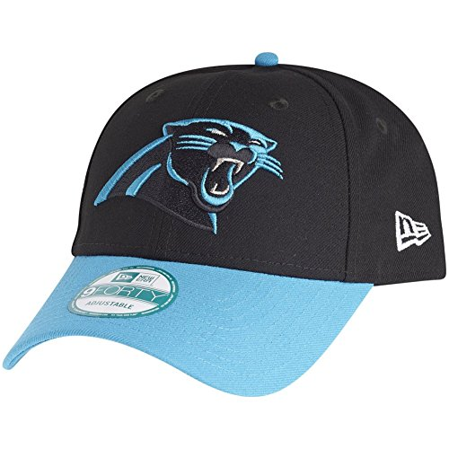 New Era 9Forty Cap - NFL League Carolina Panthers schwarz