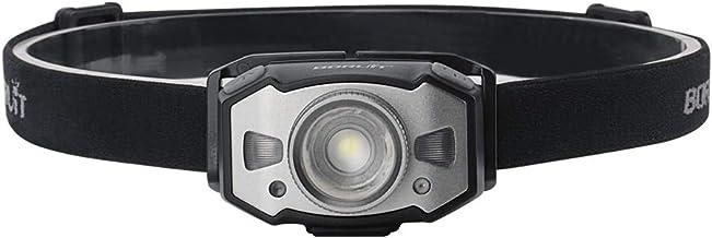 Hoofd Fakkel Led Motion Ir Sensor Mini Koplamp Xp-g2+2 * 3030 Rood Licht 5-Mode Zoom Koplamp Oplaadbare Hoofd Fakkel Jacht...
