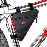Fahrrad Rahmentasche Triangle Tasche Faltbar Handy Halter Gepäcktasche Dreieck Multifunktional wasserdichte Seitentasche