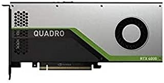 NVIDIA Quadro RTX 4000 - Kit de Cliente (Tarjeta gráfica, Quadro RTX 4000, 8 GB GDDR6, 3 DisplayPort, USB-C