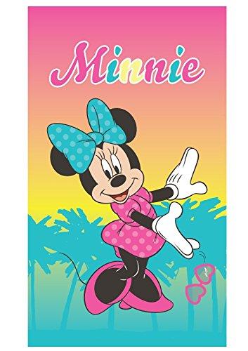Serviette de bain Minnie Mouse Tropical 75 cm x 150 cm