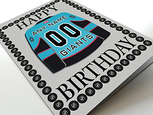 EIHL ELITE ICE HOCKEY LEAGUE THEMED BIRTHDAY CARDS for sale  Delivered anywhere in UK