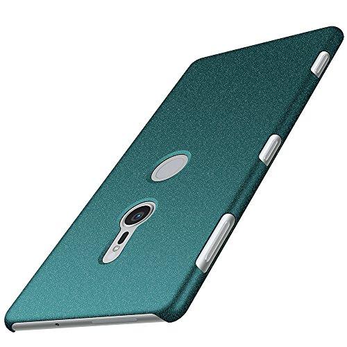 Sony Xperia XZ2 Hülle, Anccer [Serie Matte] Elastische Schockabsorption & Ultra Thin Design für Sony Xperia XZ2 (Kies Grün)