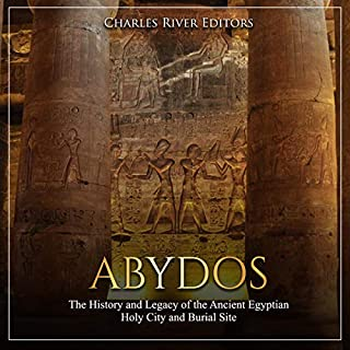 Abydos audiobook cover art