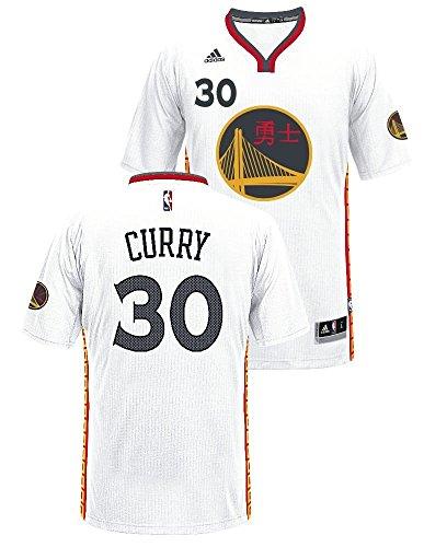 Stephen Curry Golden State Warriors Adidas orgullo Swingman Jersey (blanco), Atlético, Blanco