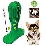 Suntapower Spazzolino da Denti per Cani, Cura Dentale del Giocattolo da Masticare in Gomma Non Tossica