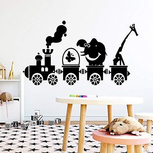 JXMN Etiqueta engomada de la Pared del Cerdo Creativo Vinilo Impermeable decoración del hogar habitación de los niños decoración del hogar Etiqueta de la Pared decoración del hogar 60x106cm