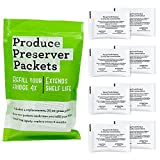 AMI PARTS W10346771A Produce Preserver Replacement Part Compatible with Refrigerators(4 replacements-8packs)