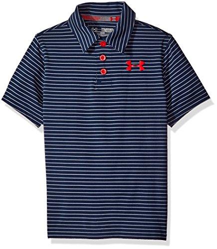 Under Armour Boys Playoff Stripe Polo Shirt