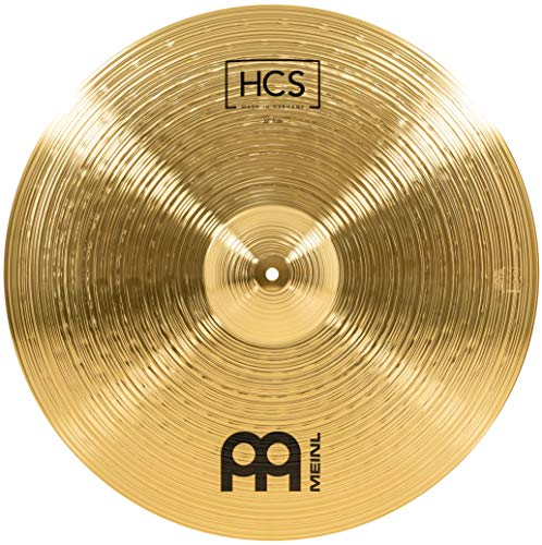 Meinl Cymbals HCS 22 Zoll (55,88cm) Ride Becken für Schlagzeug – Messing, traditionelles Finish (HCS22R)