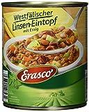 Erasco Westfälischer Linsen-Eintopf mit Essig - 800 g