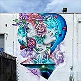 Graffiti + Flowers M: Awareness of Inner Self