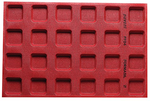 Amazing Deal Paderno World Cuisine 47775-04 Micro Perforated Mold, 2 1/2 x 2 1/2, Red