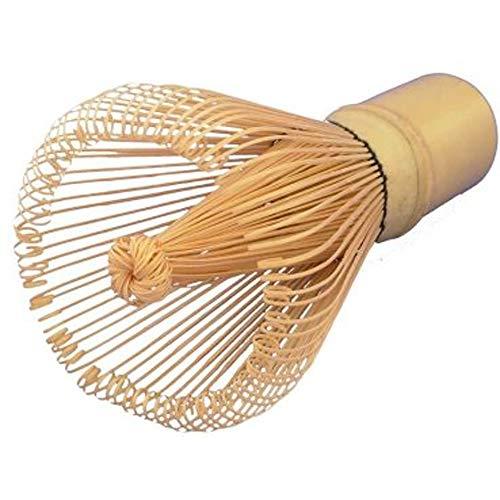 aoory Matcha Bambusbesen mit 100 Borsten Handgefertigt und Sehr Exklusiv Unverzichtbar für Eine Leichte Matchazubereitung