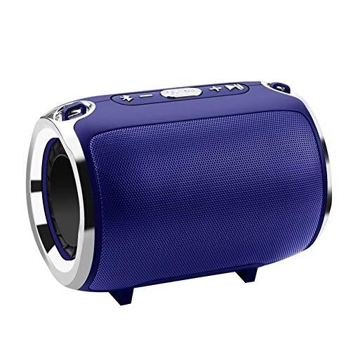 DKee. Lila drahtlose Bluetooth-Stereo-Lautsprecher Bünde Subwoofer-Lautsprecher HiFi tragbare Boombox Unterstützung FM Radio TF AUX USB