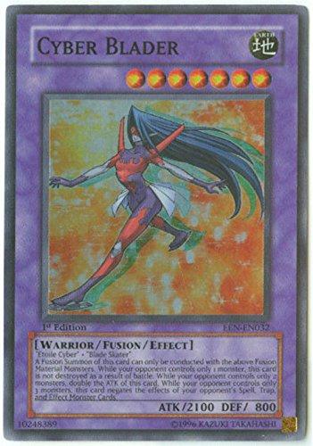 Yu-Gi-Oh! - Cyber Blader (EEN-EN032) - Elemental Energy - Unlimited Edition - Super Rare by Yu-Gi-Oh!
