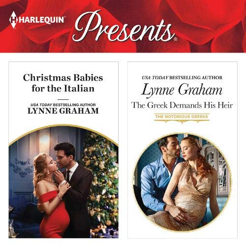 Christmas Babies for the Italian & The Greek Demands His Heir cover art