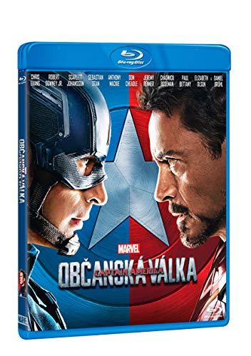 Captain America: Obcanska valka BD / Captain America: Civil War (czech version)