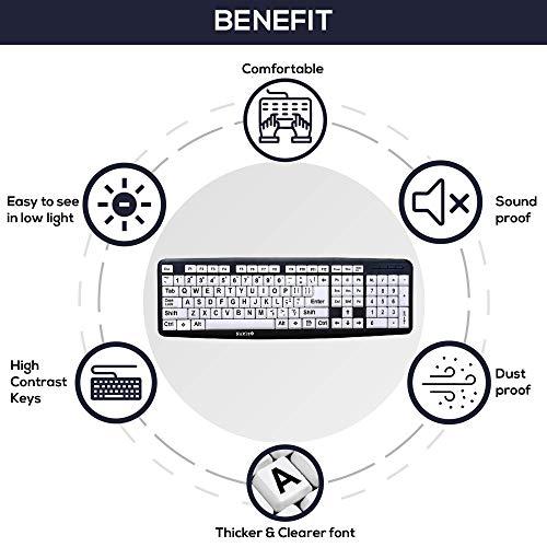 Nuklz N Large Print C   omputer Keyboard