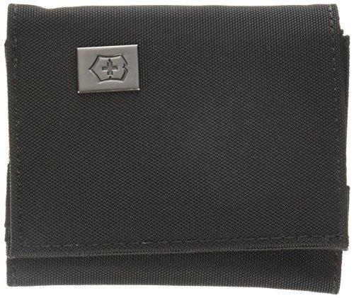 Victorinox Travel Accessoires 4.0 Tri-Fold-Portemonnaie - Geldbeutel Brieftasche Münzfach - Schwarz
