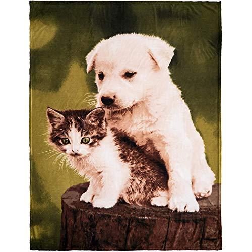 Fotodecke mit Eigenem Foto Tiermotiv Decke Kuscheldecke Tagesdecke Wohndecke personalisiert decke (150 * 60cm)