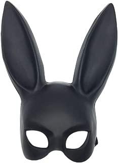 Nuoka Halloween Masquerade Rabbit Mask Costume Cosplay Bunny Mask