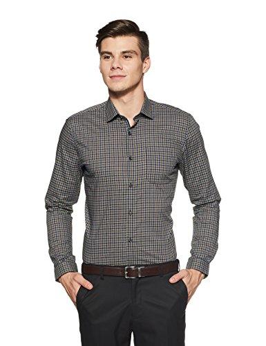 Peter England Men's Solid Slim Fit Formal Shirt (PSF31800243940_40_Multicolor)