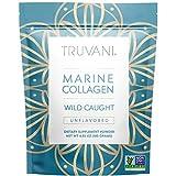 TRUVANI - Wild Caught Hydrolyzed Marine Collagen Protein Powder   Collagen Protein Supplement with Type 1,2 & 3   Anti-Skin...