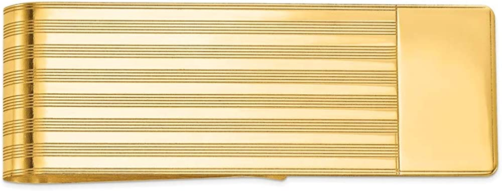 14k Yellow Super popular specialty store Attention brand Gold Clip Men's Money