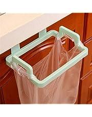 CNSFFS Hangende prullenbakhouder, kastbak, hangende prullenbak vuilnisrek draagbare hangende organizer, praktische plastic beugel voor keukenkast kast