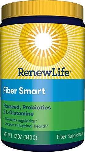 Renew Life Adult Fiber Supplement - Fiber Smart - Dietary Fiber - Gluten & Soy Free - 12 Ounce